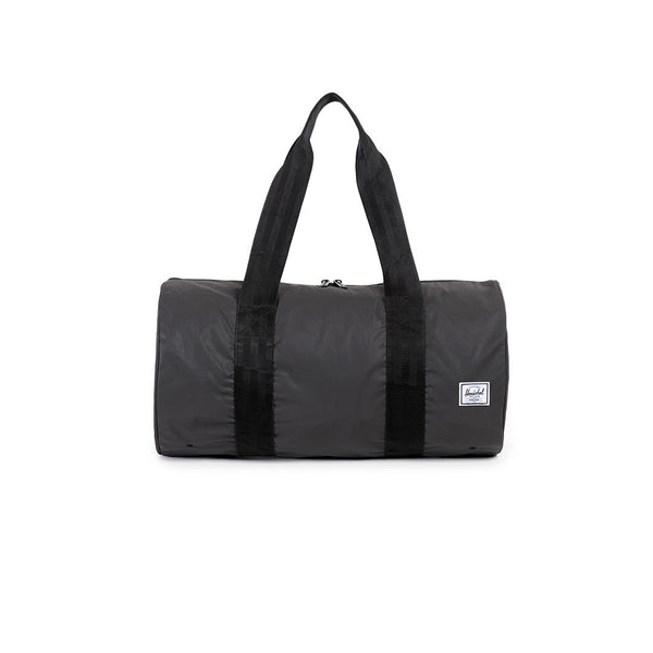 "Herschel Supply Co. Packable Duffle Reflective ""New York"" - Black"