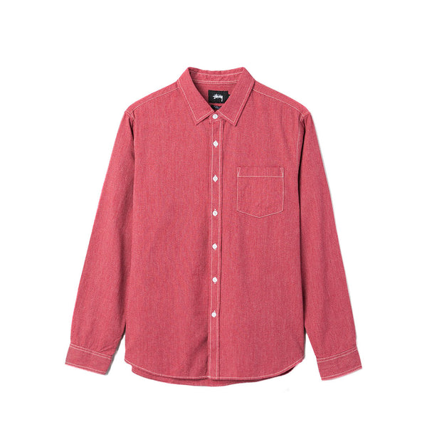 Stussy Speckled Shirt - Red