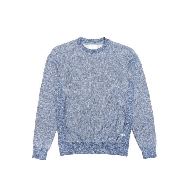 Wood Wood Men's Larry Sweatshirt- Blue