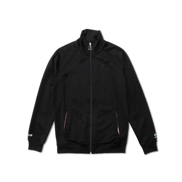 "Diadora x AFEW Men's ""Highly Addictive"" Track Jacket- Black"