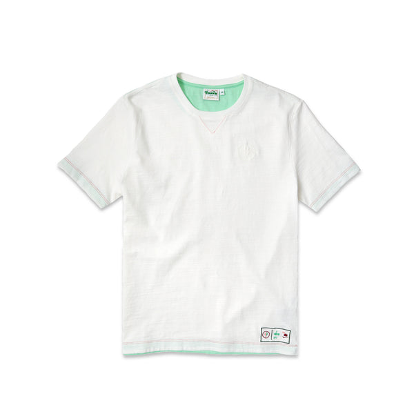 "Diadora x AFEW Men's ""Highly Addictive"" T-Shirt- White"