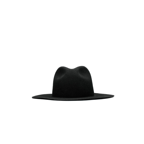 Magic Stick Wide Brim Hat- Black