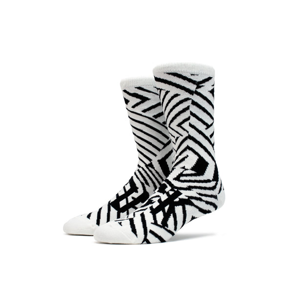 Magic Stick FU*K Socks- White/Black