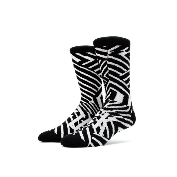 Magic Stick FU*K Socks- Black/White