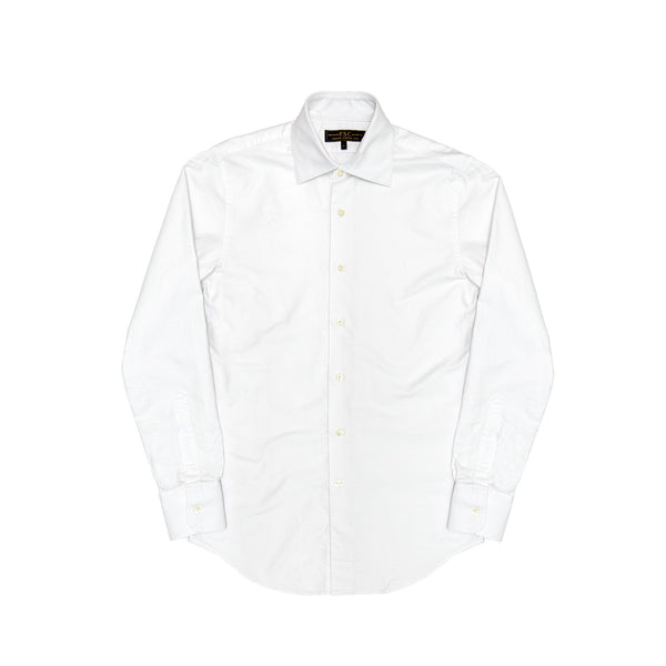 Freemans Sporting Club Men's Oxford Hopkins Shirt - White