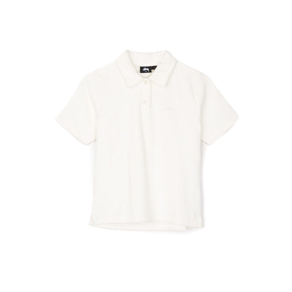 Stussy Women's Sunset Polo- White