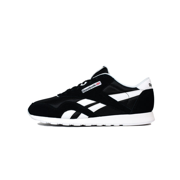 Reebok, Men's, Classic, Nylon, 6604, Black, White