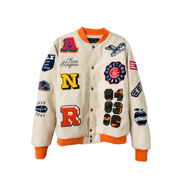 Atelier New Regime Birds of a Feather Varsity - Cream