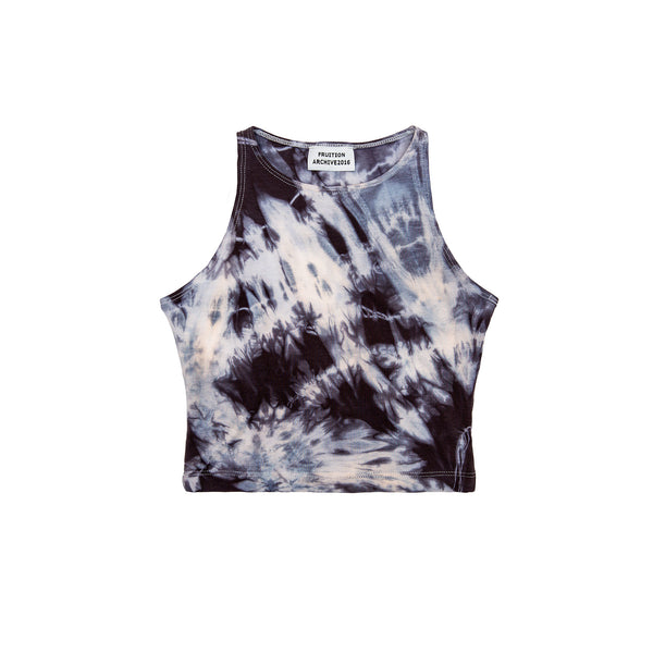 Fruition Women's Atmospheric Crop Tank - Glacier