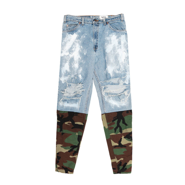 "Bachar Collection ""Concreate Fighter"" Denim - Camo"