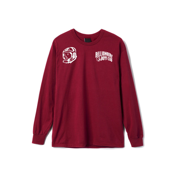 Billionaire Boys Club Hunter LS Tee - Biking Red