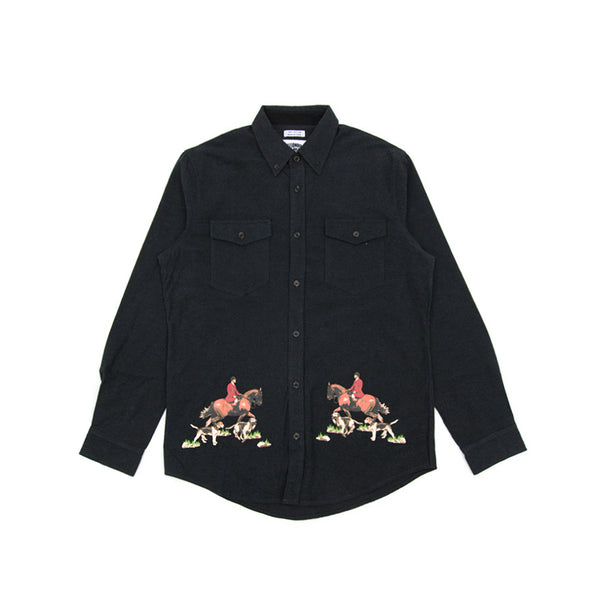 Billionaire Boys Club Stable LS Woven - Black