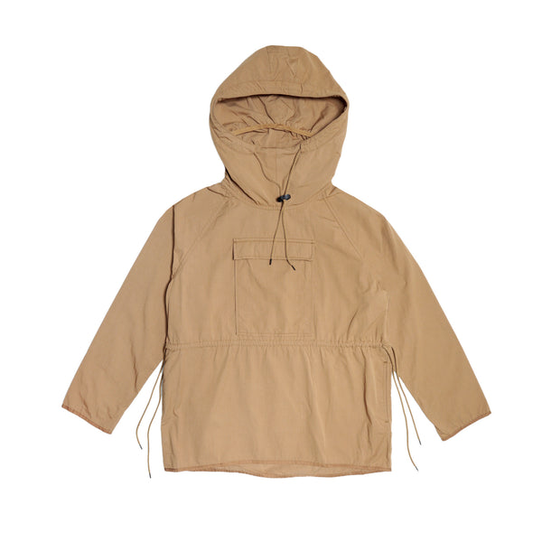 Blurhms Men's Anorak Cotton-Nylon Twill- Tan