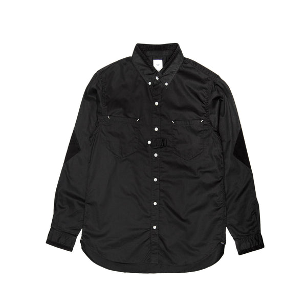 Blurhms, Men's, BD Worker, Shirt, Black, Button up