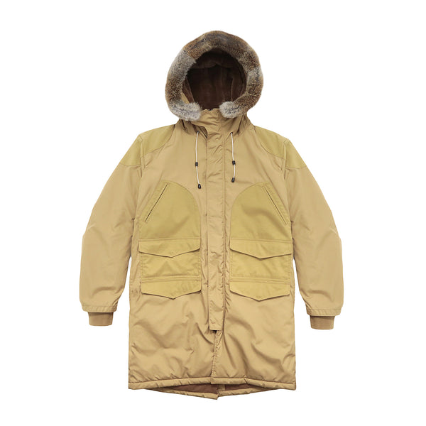 Blurhms Men's Flight Coat - Beige