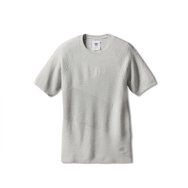 Adidas x Wings + Horns Men's Patch Tee- Hint Fog