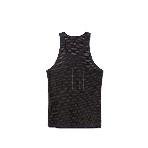 Adidas Men's Day One Mesh Singlet- Black