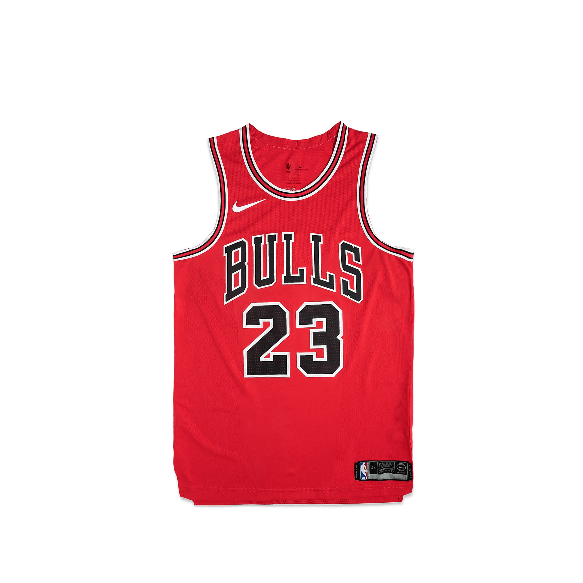 best website 54c5f eb917 nike bulls 23 michael jordan red nba authentic icon edition ...