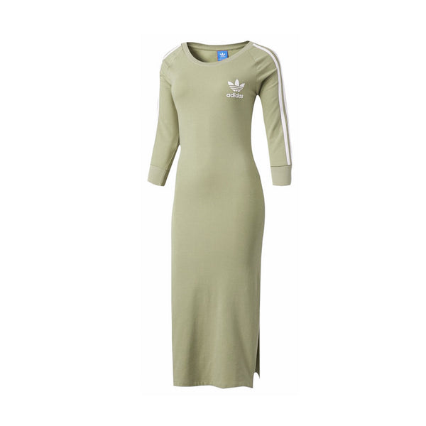 Adidas Women's 3-Stripes Dress- Tan