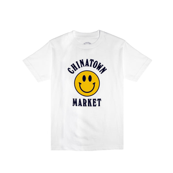Chinatown Market Smile Tee - White