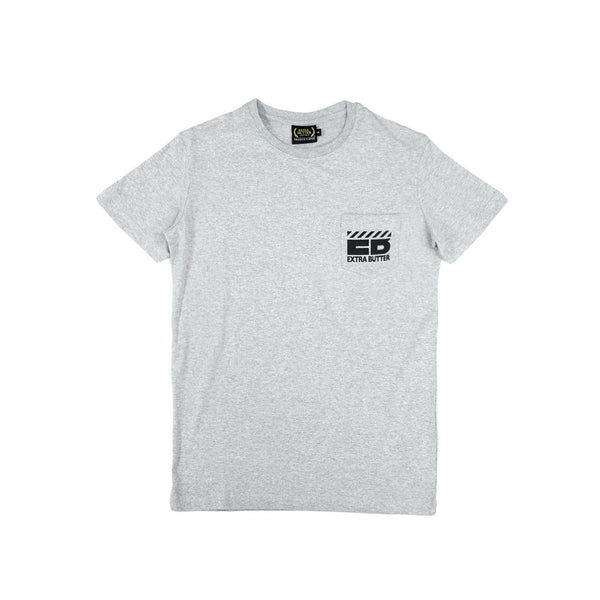 Extra Butter Director Slim Fit Pocket Tee - Grey
