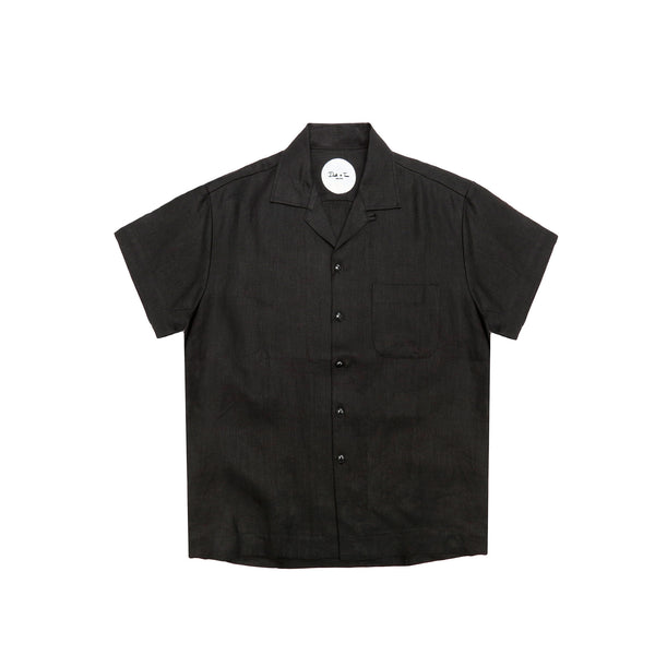 "Death to Tennis Men's ""Arnaldo"" S/S Shirt- Black"
