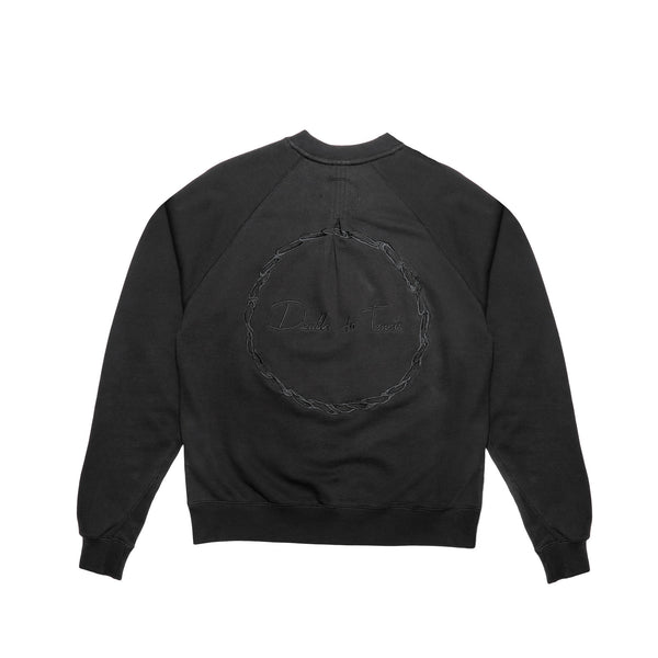 "Death to Tennis Men's ""North Blyth"" Sweatshirt- Black"