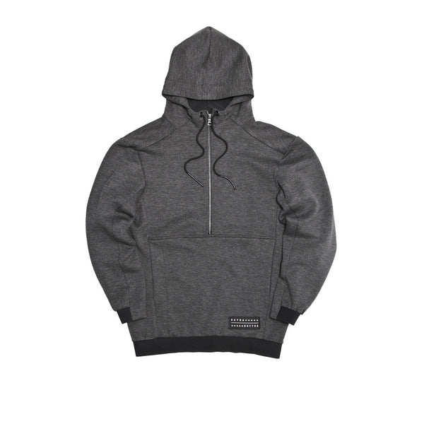 Extra Butter Fincher Two-Shot Hoodie - Charcoal