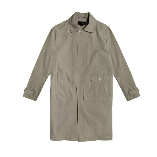 Extra Butter Somerset Overcoat- Taupe