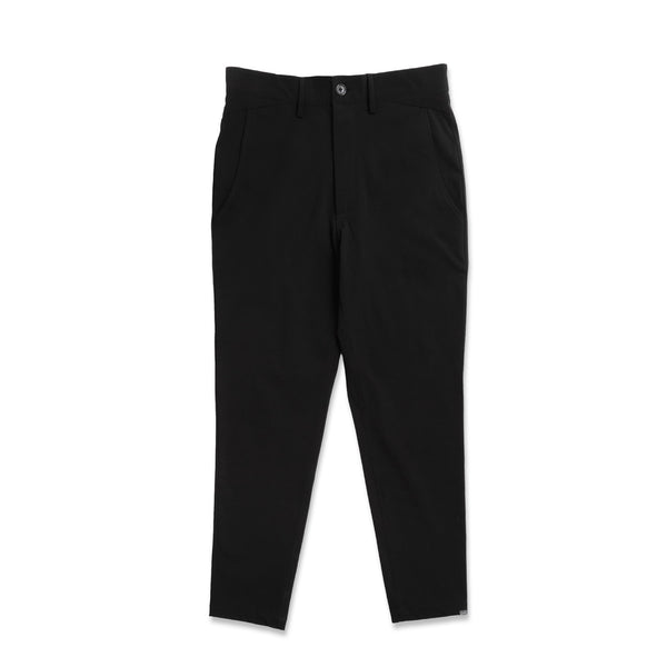 Extra Butter Men's Tech Crop Chino Pants- Black