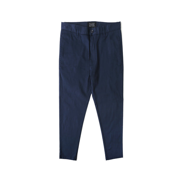 Extra Butter Doe Cropped Chino- Navy