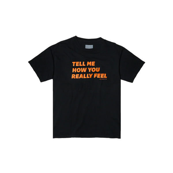 Extra Butter Tell Me Tee - Black