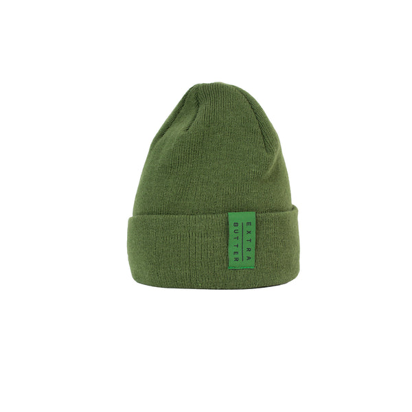 Extra Butter Knit Beanie - Olive