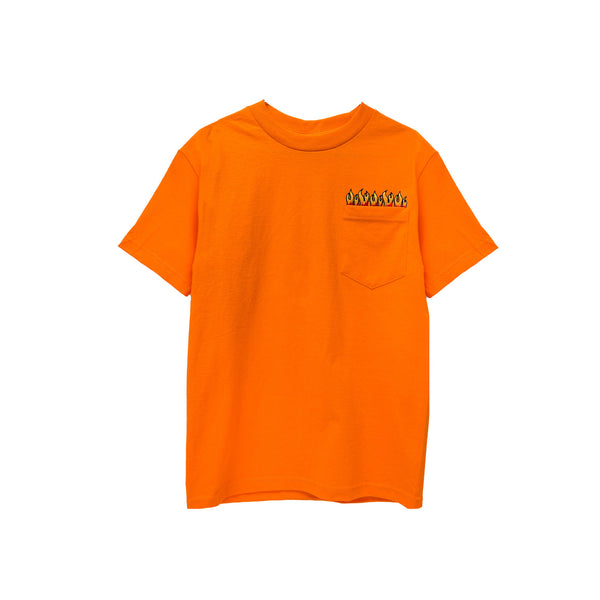 Fruition Flames Tee - Orange