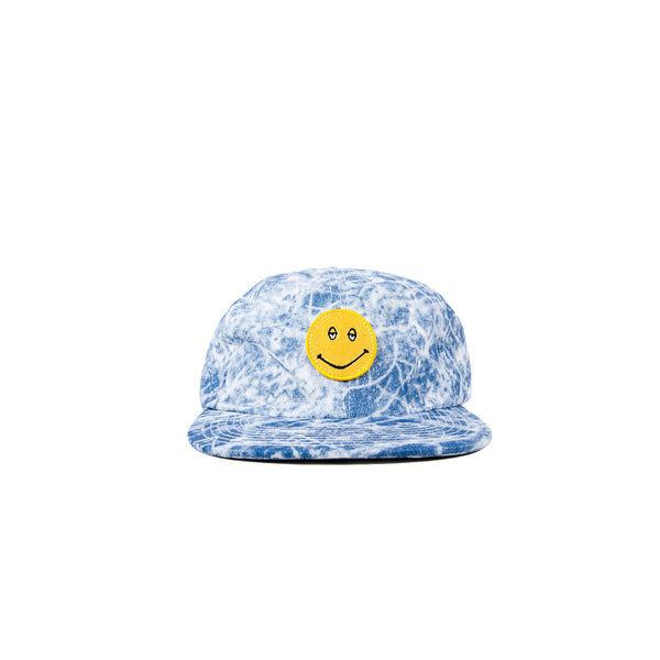 "Paterson ""Fah Q"" 6 Panel Hat- Blue"