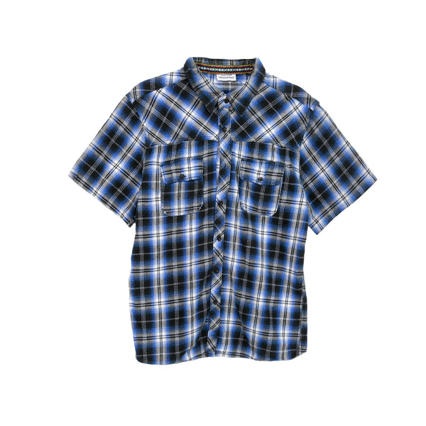 Fruition Flannel - Blue