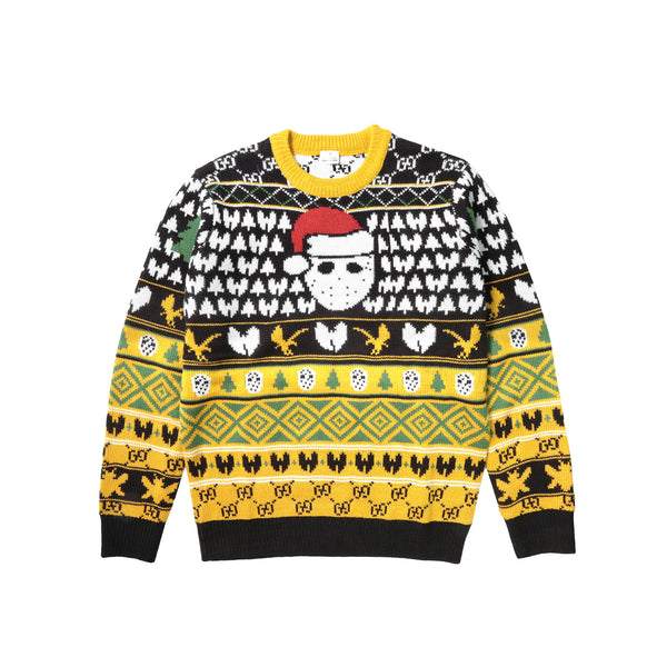 GFK Living Ugly Christmas KnitSweater - Black