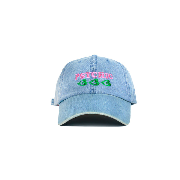 Psychic Hearts Groove(y) Golf Cap - Denim