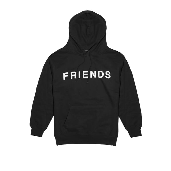"Friends ""Fake Friends"" Hoody - Black"