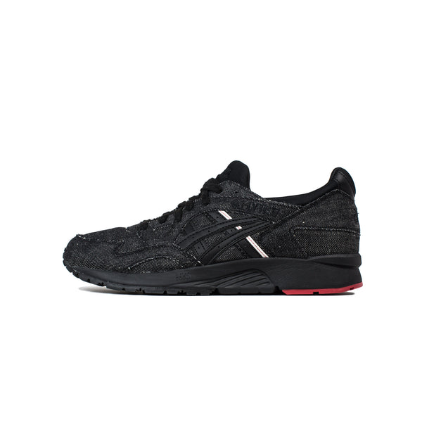 asics, mens, men, gel lyte V, black denim, black, denim, asics gel lyte v