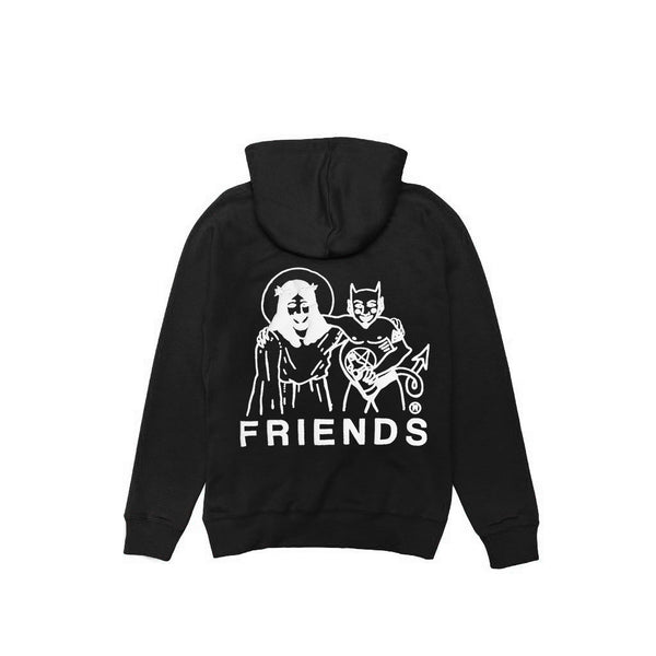 "Friends ""Jesus + Satan"" Hoody - Black"