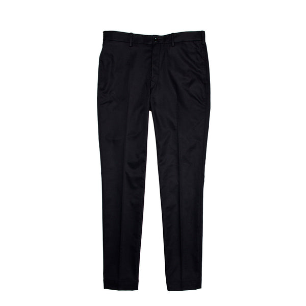 EFM Men's Costello Flat Front Trouser - Black