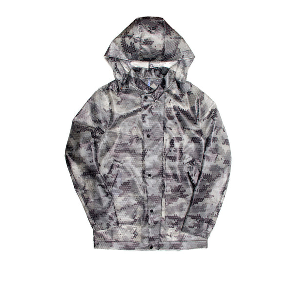 EFM Men's Balesta Waterproof Translucent Jacket - Clear Camo