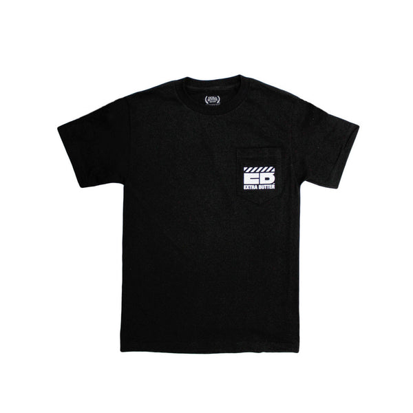 Extra Butter Smooth Operators Pocket Tee - Black