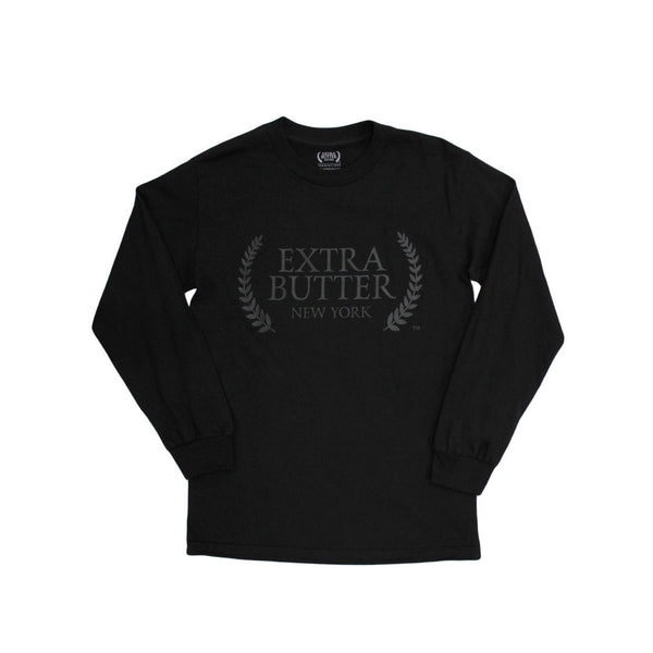 Extra Butter Official Selection L/S Tee - Black