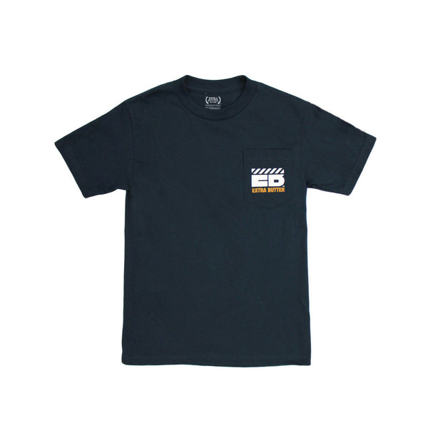 Extra Butter 1First Quality1 Pocket Tee - Navy