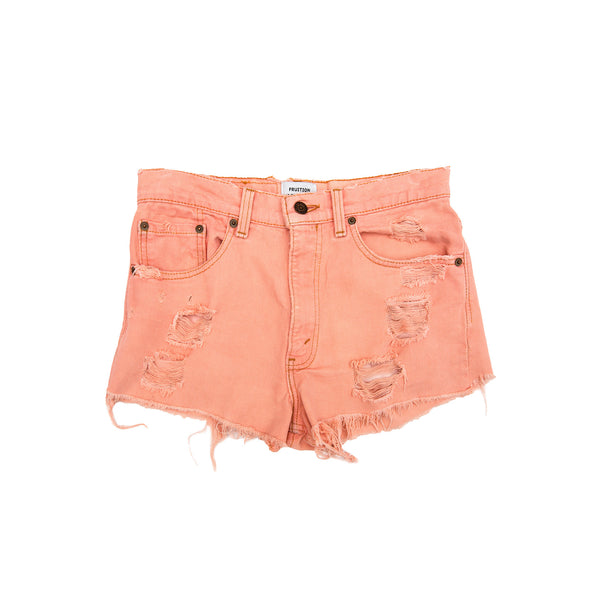 Fruition Women's Levi's Timeworn Shorts - Peach