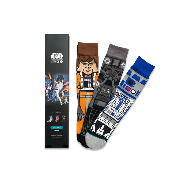 "Stance Socks x Star Wars ""A New Hope"" 3-Pair Set"