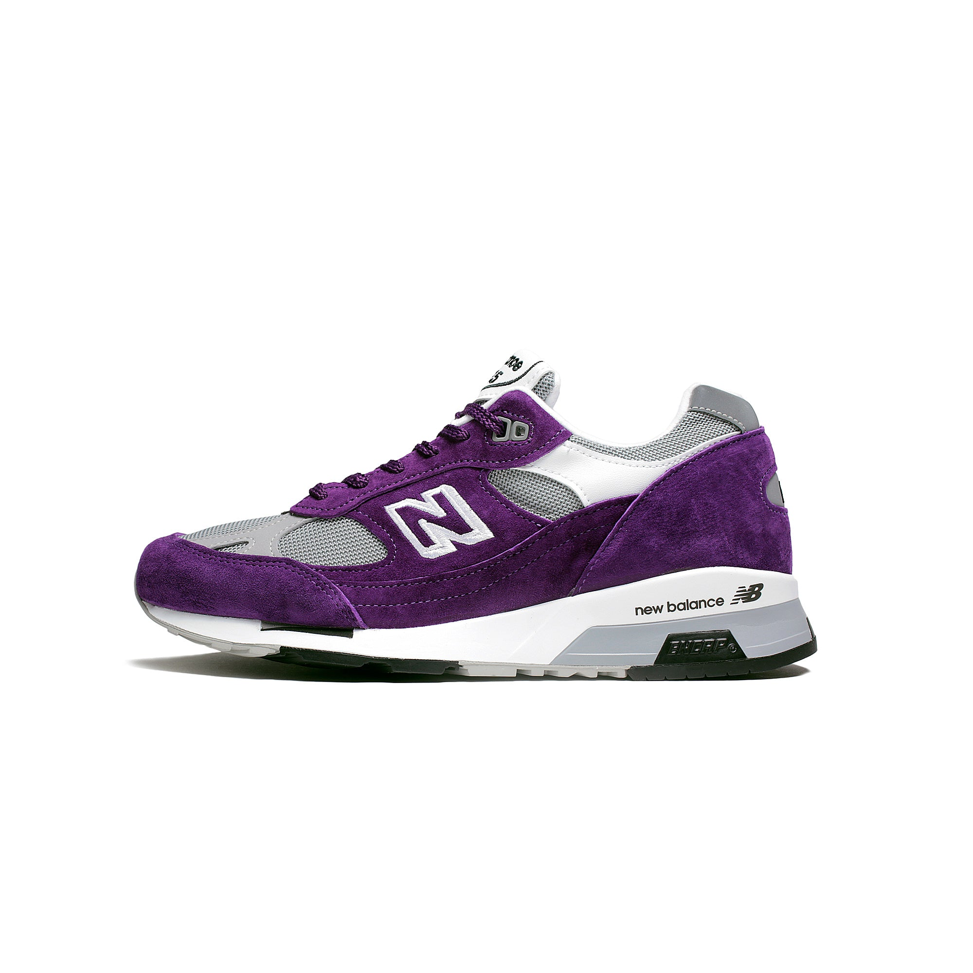 New Balance Men's M9915CC Suede Shoes Purple