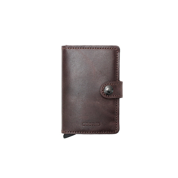 Secrid Miniwallet- Vintage Chocolate